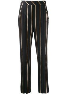 Self Portrait tailored striped pattern trousers