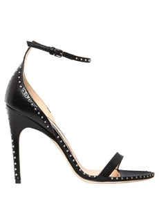 Sergio Rossi 105mm Micro Studs Leather Sandals