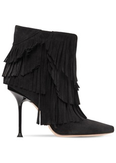 Sergio Rossi 105mm Sr Milano Suede Ankle Boots