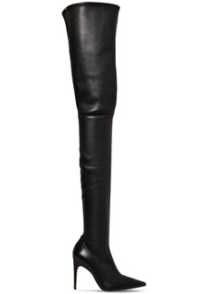 Sergio Rossi 105mm Stretch Nappa Leather Boots