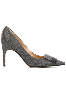 Sergio Rossi 95mm Lurex 90 pointed pumps