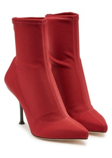 Sergio Rossi Ankle Boots with Leather
