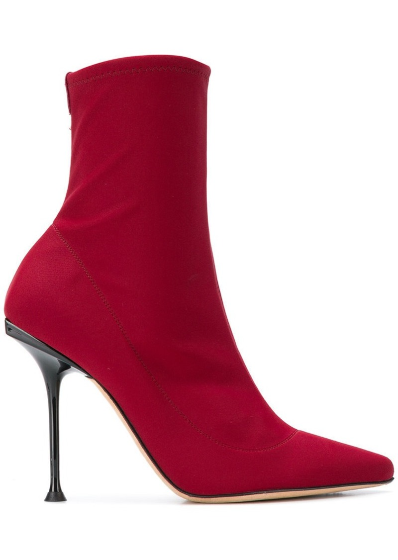 Sergio Rossi ankle sock boots