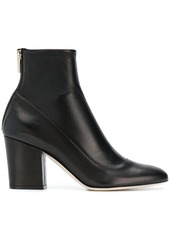 Sergio Rossi back zip ankle boot