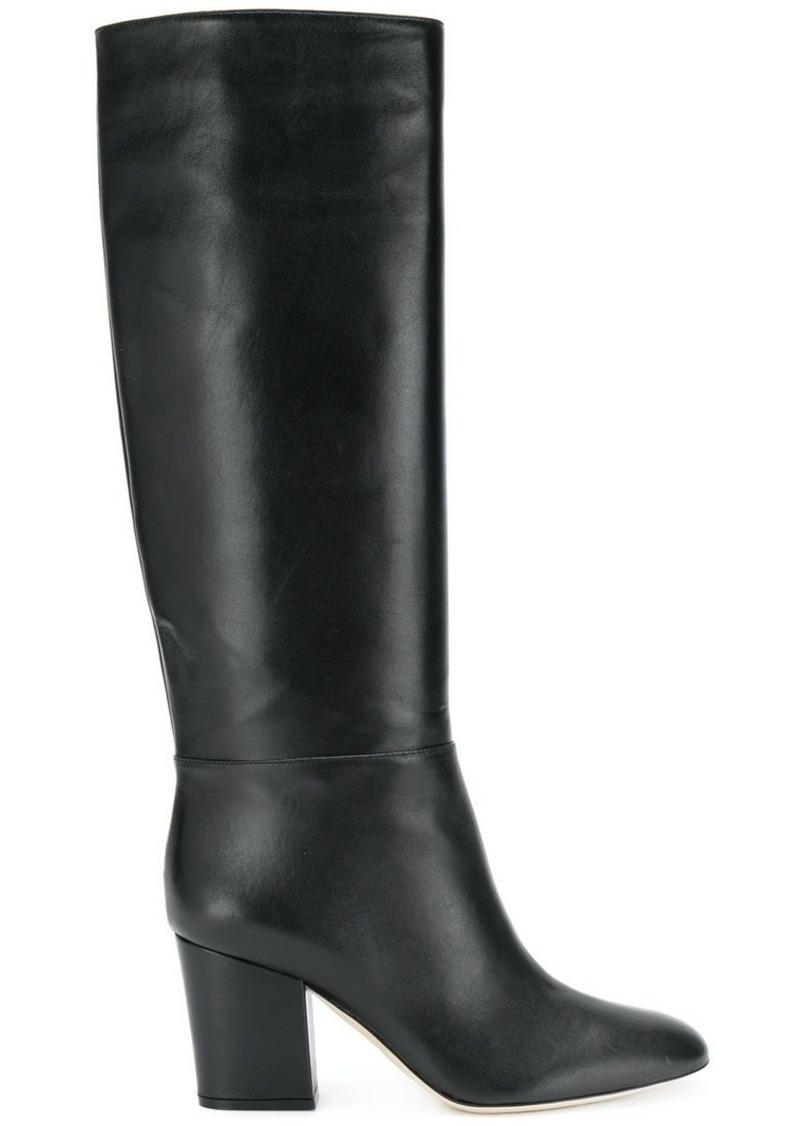 Sergio Rossi block heel boots