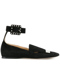 Sergio Rossi buckled flats