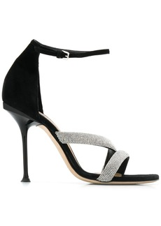 Sergio Rossi embellished stiletto sandals