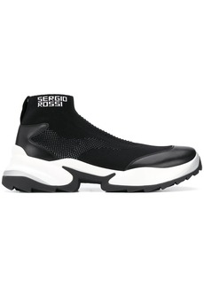 Sergio Rossi Extreme sock sneakers