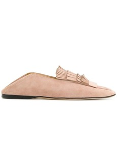 Sergio Rossi fringed loafers