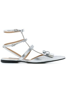 Sergio Rossi high ankle strapped sandals