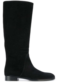 Sergio Rossi knee-length flat boots
