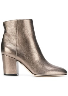 Sergio Rossi metallic ankle boots