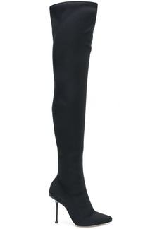 Sergio Rossi sr Milano over the knee boots