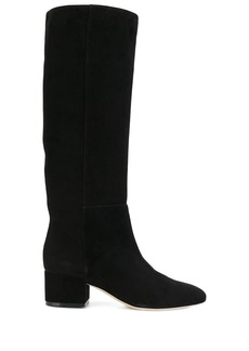 Sergio Rossi below-the-knee suede boots