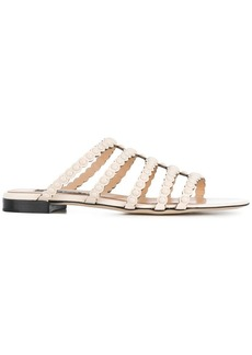 Sergio Rossi pearl embellished sandals