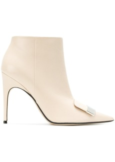Sergio Rossi point-toe ankle boots