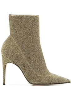 Sergio Rossi pointed ankle boots