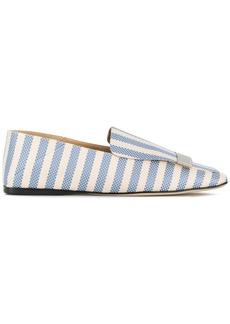 Sergio Rossi Portofino striped loafers