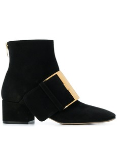 Sergio Rossi buckle boots