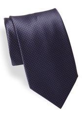Brioni Micro Printed Silk Tie
