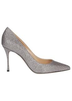 Sergio Rossi Glitter Stiletto Heels