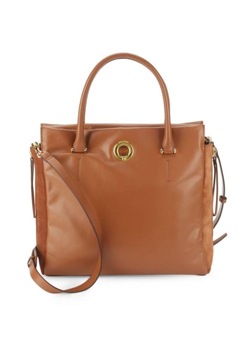 ee6d27c6de Halston Heritage Halston Heritage Solid Leather Tote Bag