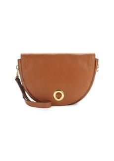 Halston Heritage Halston Leather Saddle Bag