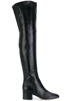 Sergio Rossi knee length boots - Black