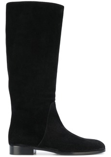 Sergio Rossi knee-length flat boots - Black