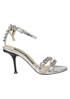 Sergio Rossi Mirrored Sandals