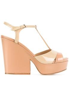 Sergio Rossi platform sandals - Pink & Purple