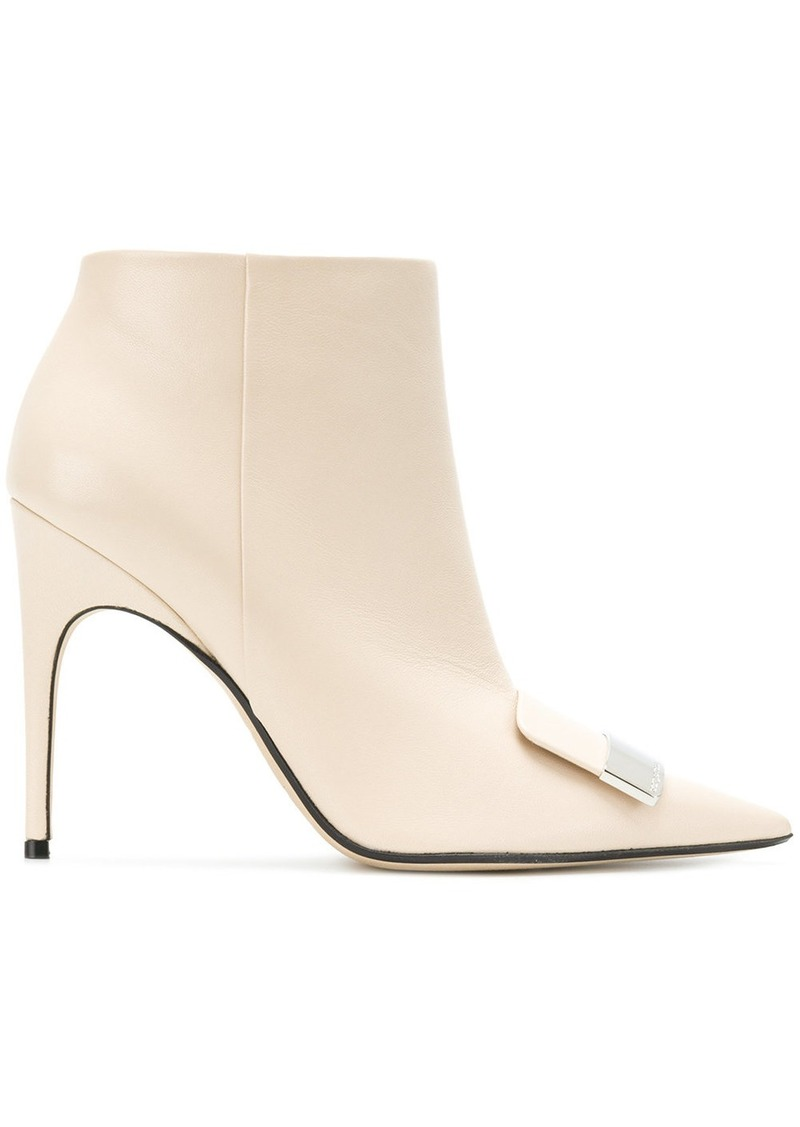 point-toe ankle boots - Nude & Neutrals Sergio Rossi I06I03