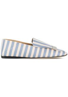 Sergio Rossi Portofino striped loafers - Blue