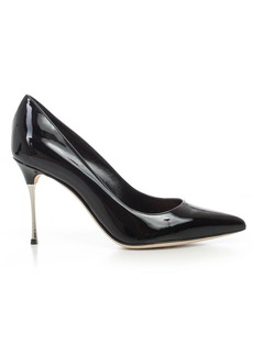 Sergio Rossi Pumps Paint W/iron Heel 90