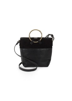 Sergio Rossi Quilted Crossbody Bucket Bag