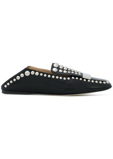 Sergio Rossi slip-on studded loafers
