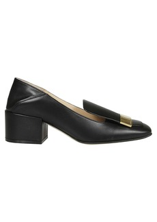 Sergio Rossi Square Toe Loafers