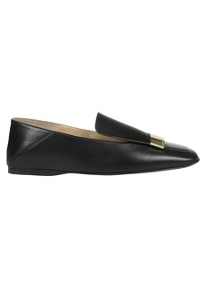 Sergio Rossi Square Toe Slippers