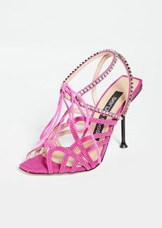 Sergio Rossi Sr Milano Sandals