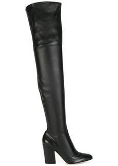 Sergio Rossi thigh high boots - Black