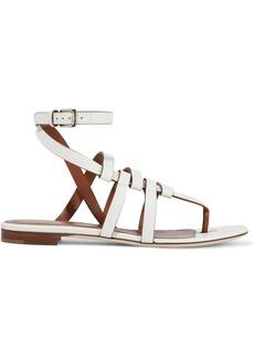 Sergio Rossi Woman Capri Leather Sandals White