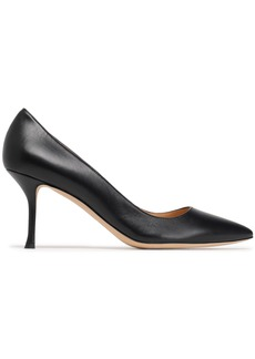 Sergio Rossi Woman Godiva Leather Pumps Black