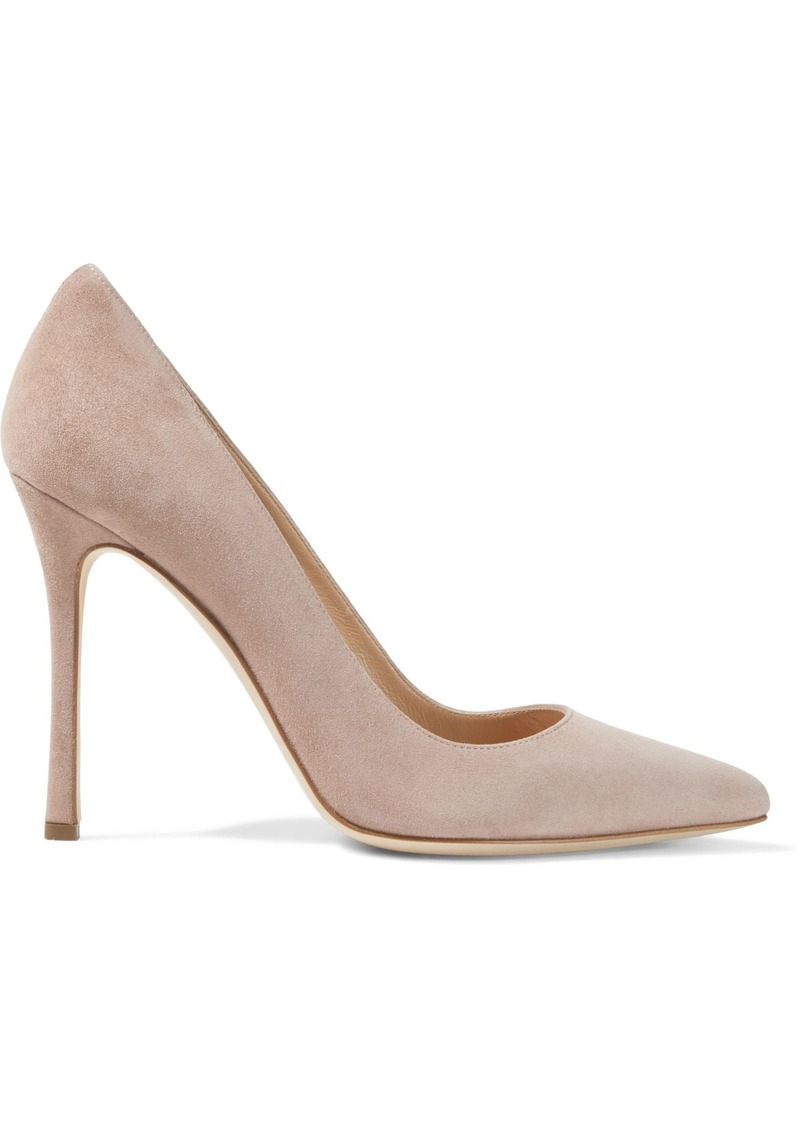 Sergio Rossi Woman Godiva Suede Pumps Pastel Pink