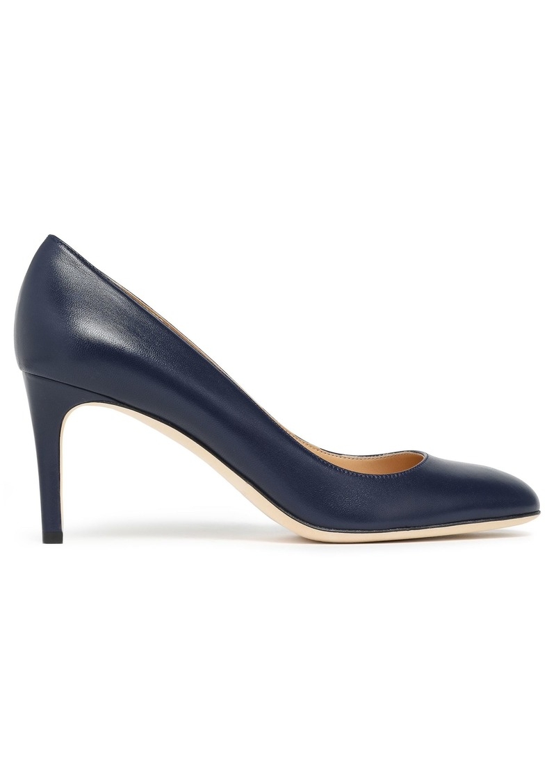 Sergio Rossi Woman Leather Pumps Indigo