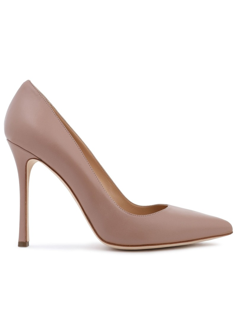 Sergio Rossi Woman Leather Pumps Neutral