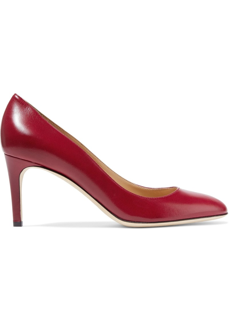 Sergio Rossi Woman Madame Leather Pumps Claret