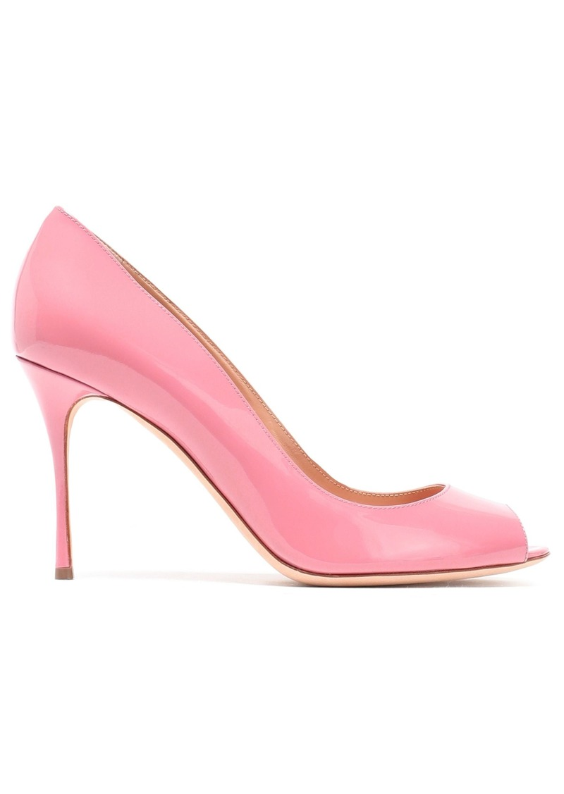 Sergio Rossi Woman Patent-leather Pumps Baby Pink