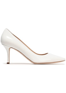 Sergio Rossi Woman Patent-leather Pumps White