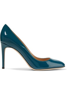 Sergio Rossi Woman Patent-leather Pumps Teal