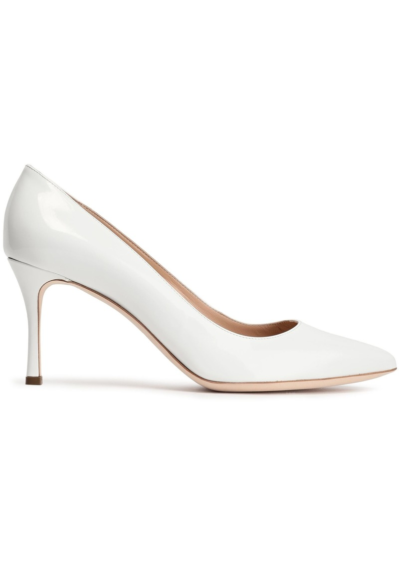 Sergio Rossi Woman Patent-leather Pumps White
